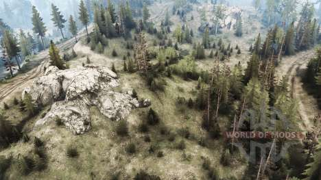 La construcción de la carretera para Spintires MudRunner