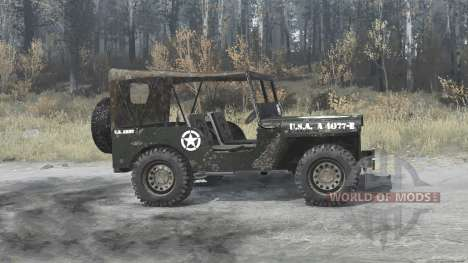 Willys MB 1942 para Spintires MudRunner