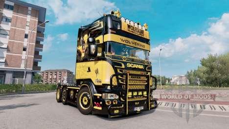 Scania R520 Wolverine para Euro Truck Simulator 2