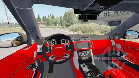 Land Rover Range Rover Vogue (L405) STARTECH para American Truck Simulator