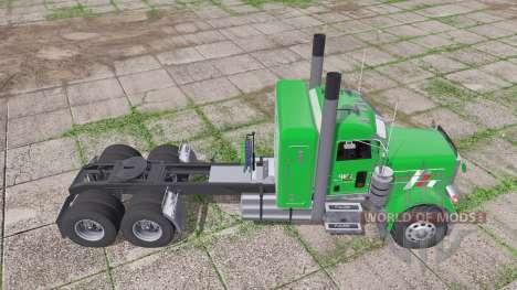 Peterbilt 379 Flat Top para Farming Simulator 2017