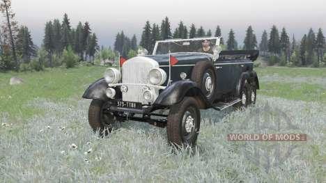 Mercedes-Benz G4 (W31) 1938 para Spin Tires