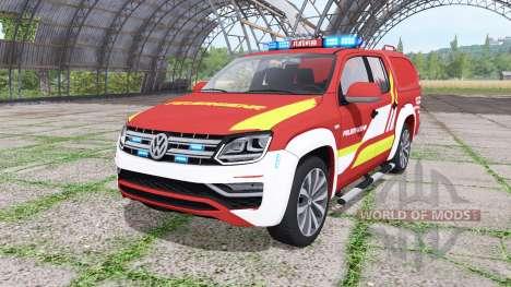 Volkswagen Amarok Double Cab para Farming Simulator 2017