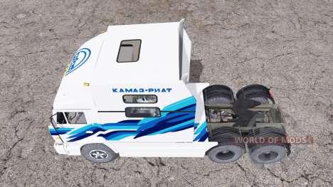 RIAT KAMAZ 54112 para Farming Simulator 2015