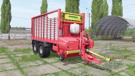 POTTINGER JUMBO 6010 combiline v1.3 para Farming Simulator 2017