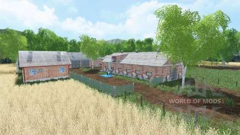 Polska wies para Farming Simulator 2015