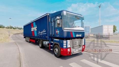 Painted truck traffic pack v5.6 para Euro Truck Simulator 2