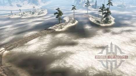 Level 76 - Sandy Beaches para Spintires MudRunner