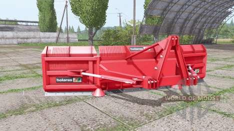 Holaras M.E.S. 500 v2.1.1 para Farming Simulator 2017