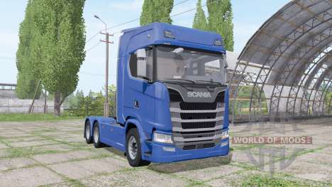 Scania S 480 3 axle para Farming Simulator 2017