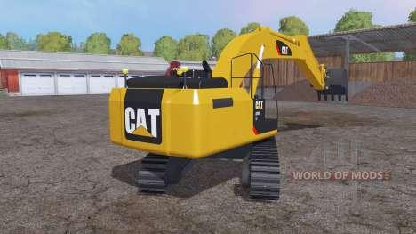 Caterpillar 329E LN para Farming Simulator 2015