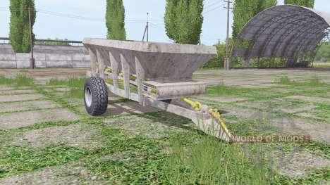 UNIA RCW 3000 para Farming Simulator 2017