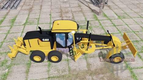 Caterpillar 140M para Farming Simulator 2017