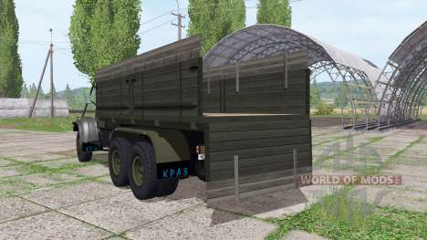 KrAZ 255B para Farming Simulator 2017