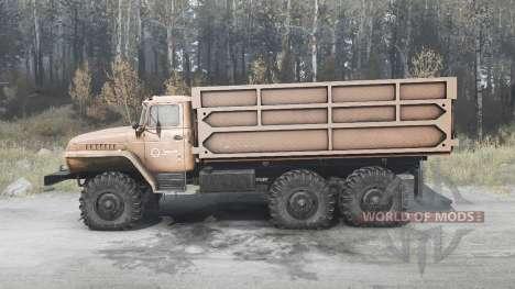 Ural 5557 para Spintires MudRunner