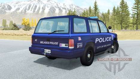 Gavril Roamer Belasco Police para BeamNG Drive