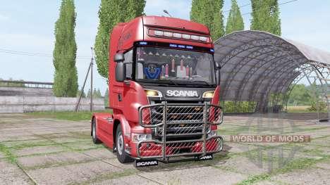 Scania R730 Topline 2010 para Farming Simulator 2017