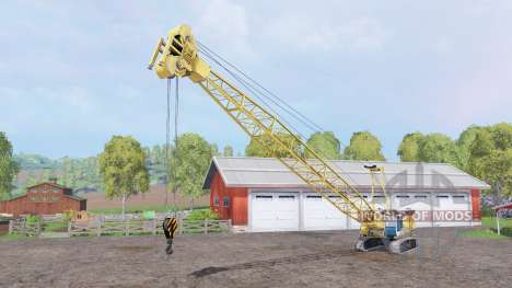Liebherr HS 875 HD Litronic para Farming Simulator 2015