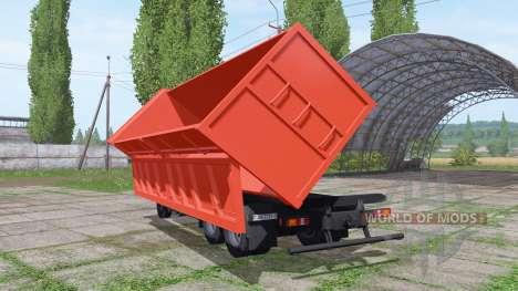 MAZ 6501В9-470-031 para Farming Simulator 2017