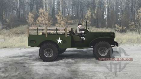 Dodge WC-51 (T214) 1942 para Spintires MudRunner