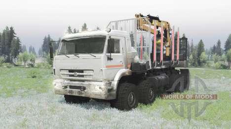 KAMAZ 6560-3198-43 para Spin Tires