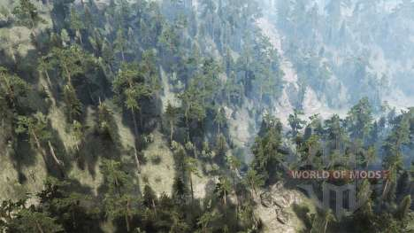 Black House Mountain para Spintires MudRunner