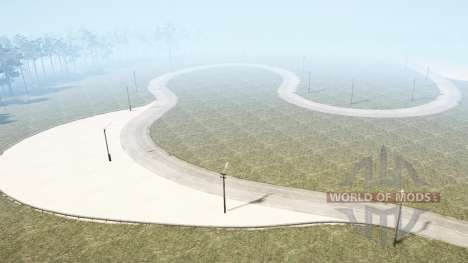 F1 Race Track para Spintires MudRunner