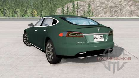 Tesla Model S para BeamNG Drive