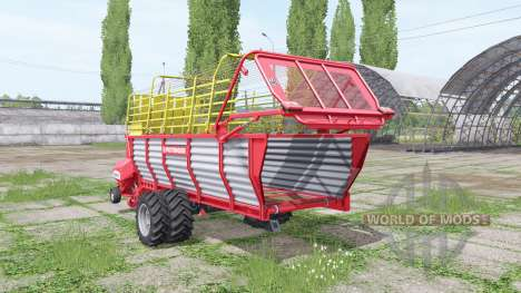 POTTINGER EUROBOSS 330 T twin tires v2.0 para Farming Simulator 2017
