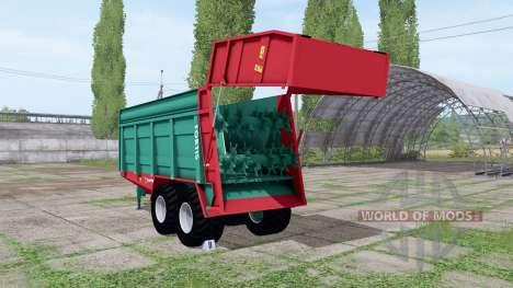 Farmtech Fortis 2200 para Farming Simulator 2017