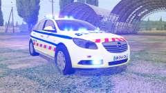 Opel Insignia Sports Tourer 2008 SAMU para Farming Simulator 2017