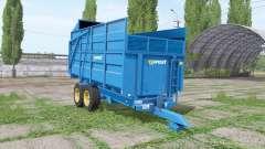 Harry West 10t silage v1.1.1 para Farming Simulator 2017