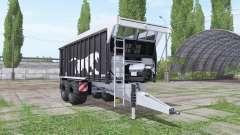 Fliegl ASW 271 Black Panther v1.3.1 para Farming Simulator 2017