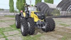 Challenger 1050 Vario double wheels para Farming Simulator 2017