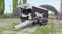 Fliegl ASW 271 Black Panther v1.4 para Farming Simulator 2017