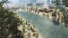 Brook Landscape para MudRunner