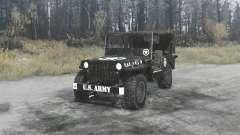 Willys MB 1942 U.S.Army para MudRunner