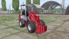 Weidemann 1770 CX 50 para Farming Simulator 2017