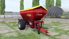 BREDAL K105 por Oriešok Modding para Farming Simulator 2017
