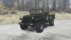 Dodge WC-51 [T214] 1942 para MudRunner