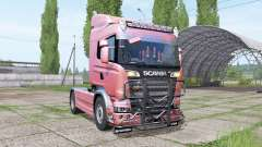 Scania R580 Highline Cab 2013 v1.0.0.1 para Farming Simulator 2017