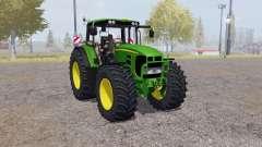 John Deere 7530 Premium v3.2 para Farming Simulator 2013