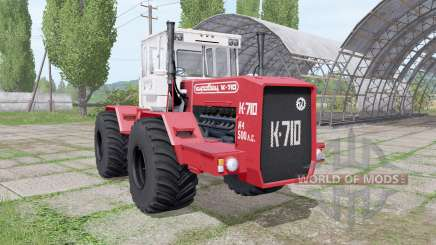 Kirovec K 710 v1.4 para Farming Simulator 2017