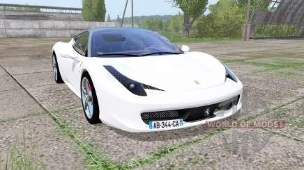 Ferrari 458 Italia Pininfarina para Farming Simulator 2017