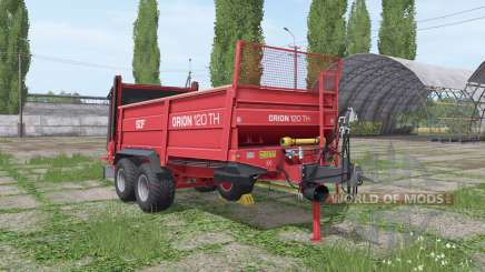 SIP Orion 120 TH v1.3 para Farming Simulator 2017