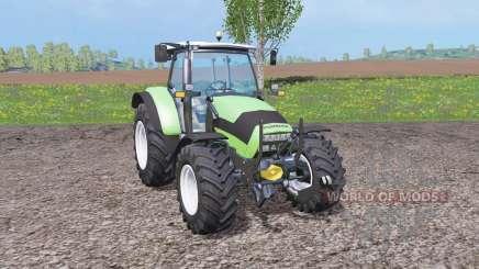 Deutz-Fahr Agrotron K 420 front loader para Farming Simulator 2015
