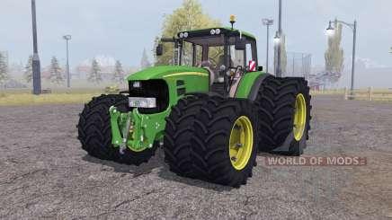 John Deere 7530 Premium twin wheels para Farming Simulator 2013