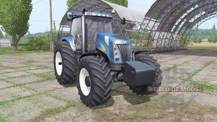 New Holland TG285 SuperSteer para Farming Simulator 2017
