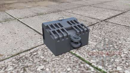 Steyr front weight para Farming Simulator 2017