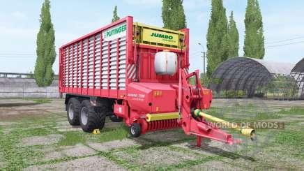 POTTINGER JUMBO 7210 combiline v1.4.1 para Farming Simulator 2017